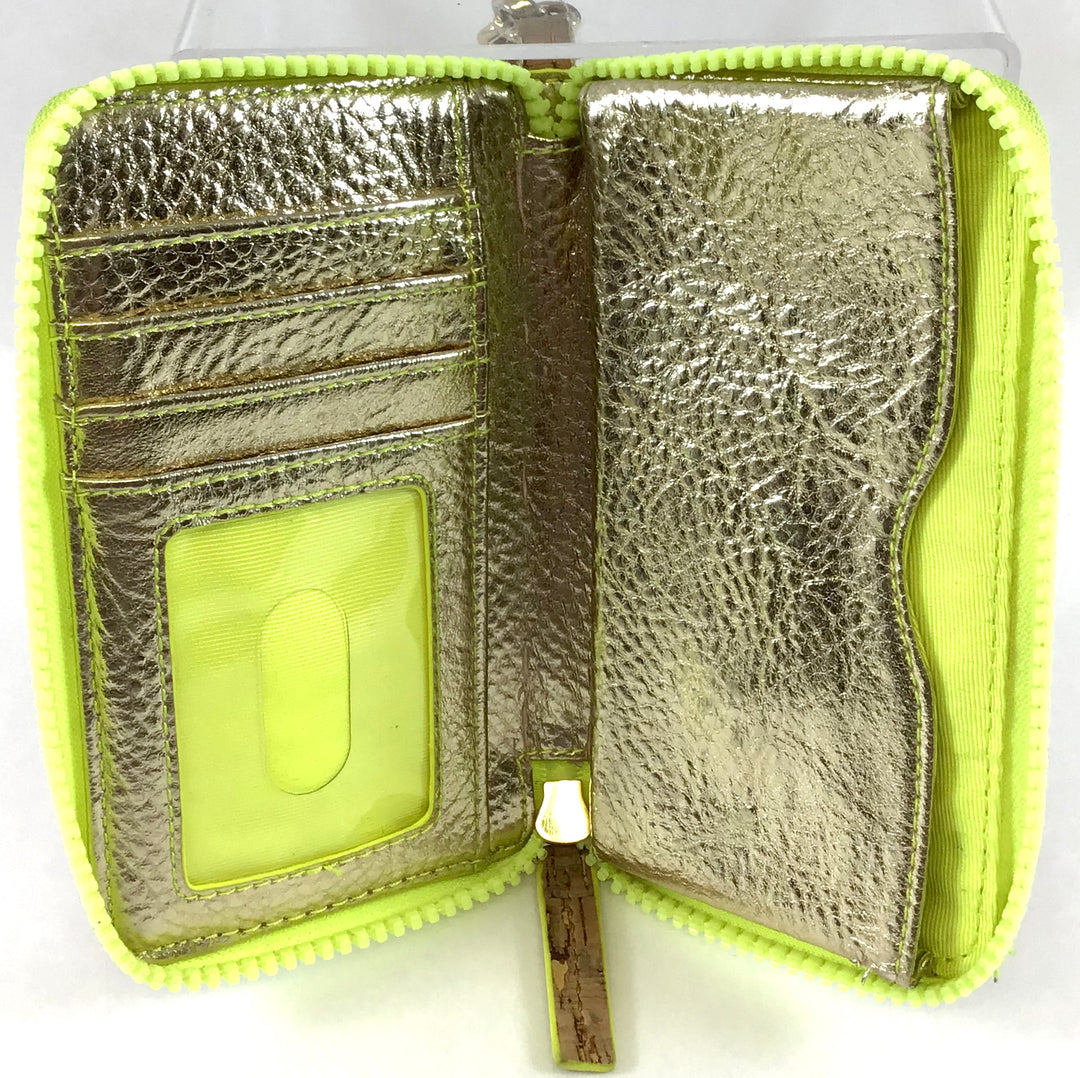 Photo #1 - BRAND: LILLY PULITZER <BR>STYLE: WALLET <BR>COLOR: YELLOW <BR>SIZE: SMALL <BR>SKU: 213-213106-25686