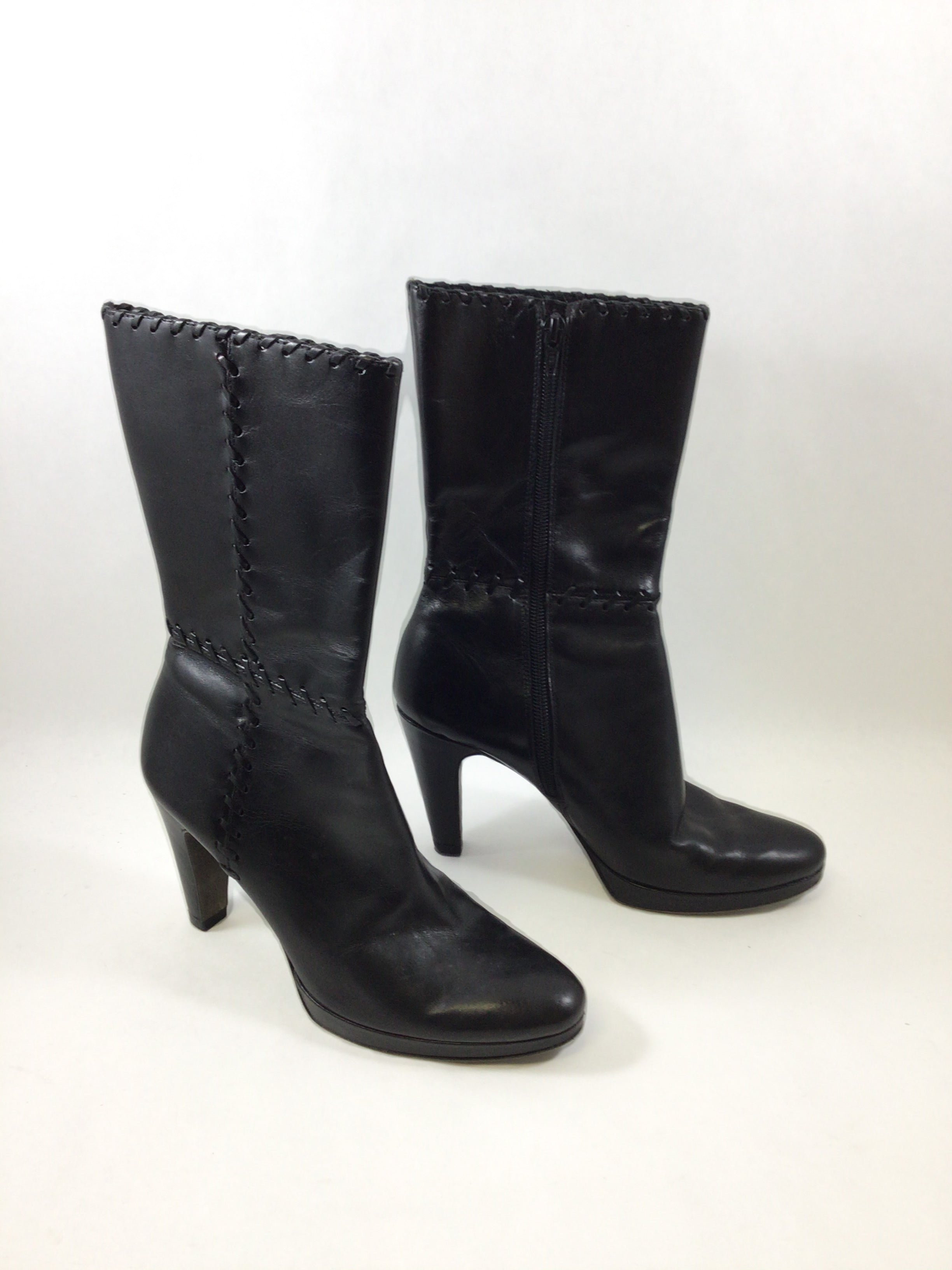 Primary Photo - BRAND: ANTONIO MELANI <BR>STYLE: BOOTS ANKLE <BR>COLOR: BLACK <BR>SIZE: 6 <BR>SKU: 213-213118-32165