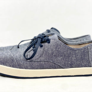 Primary Photo - BRAND: TOMS STYLE: SHOES FLATS COLOR: DENIM SIZE: 11 SKU: 213-213154-335
