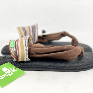 Primary Photo - BRAND: SANUK STYLE: SANDALS FLAT COLOR: BROWN SIZE: 6 SKU: 213-213118-30898