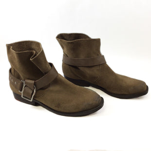 Primary Photo - BRAND: JOES JEANS STYLE: BOOTS ANKLE COLOR: BROWN SIZE: 8.5 SKU: 213-213118-33371