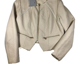 Primary Photo - BRAND: ANDREW MARC STYLE: BLAZER JACKET COLOR: CREAM SIZE: L SKU: 213-213149-1265