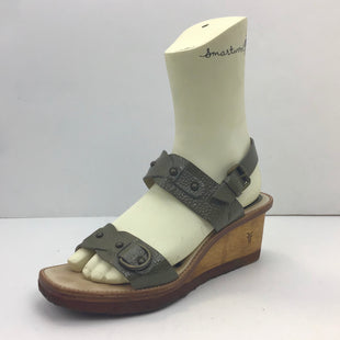 Primary Photo - BRAND: FRYE STYLE: SANDALS LOW COLOR: OLIVE SIZE: 9.5 SKU: 213-21394-38161