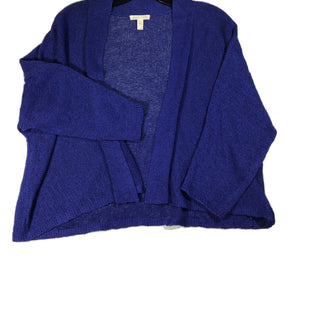 Primary Photo - BRAND: EILEEN FISHER STYLE: SWEATER CARDIGAN LIGHTWEIGHT COLOR: ROYAL BLUE SIZE: L SKU: 213-213118-32643