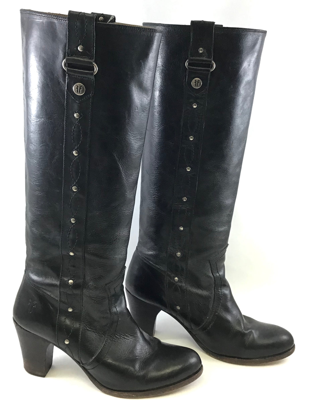 Primary Photo - BRAND: FRYE <BR>STYLE: BOOTS DESIGNER <BR>COLOR: BLACK <BR>SIZE: 8 <BR>SKU: 213-213143-1436