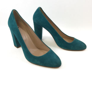 Primary Photo - BRAND: J CREW STYLE: SHOES HIGH HEEL COLOR: GREEN SIZE: 10.5 SKU: 213-213118-32031
