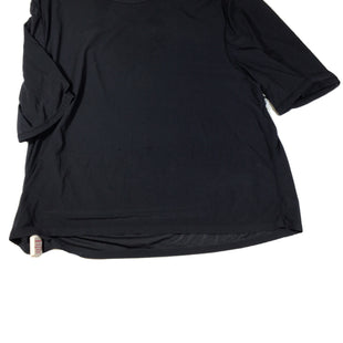 Primary Photo - BRAND: LULULEMON STYLE: ATHLETIC TOP SHORT SLEEVE COLOR: BLACK SIZE: M SKU: 213-21394-44427