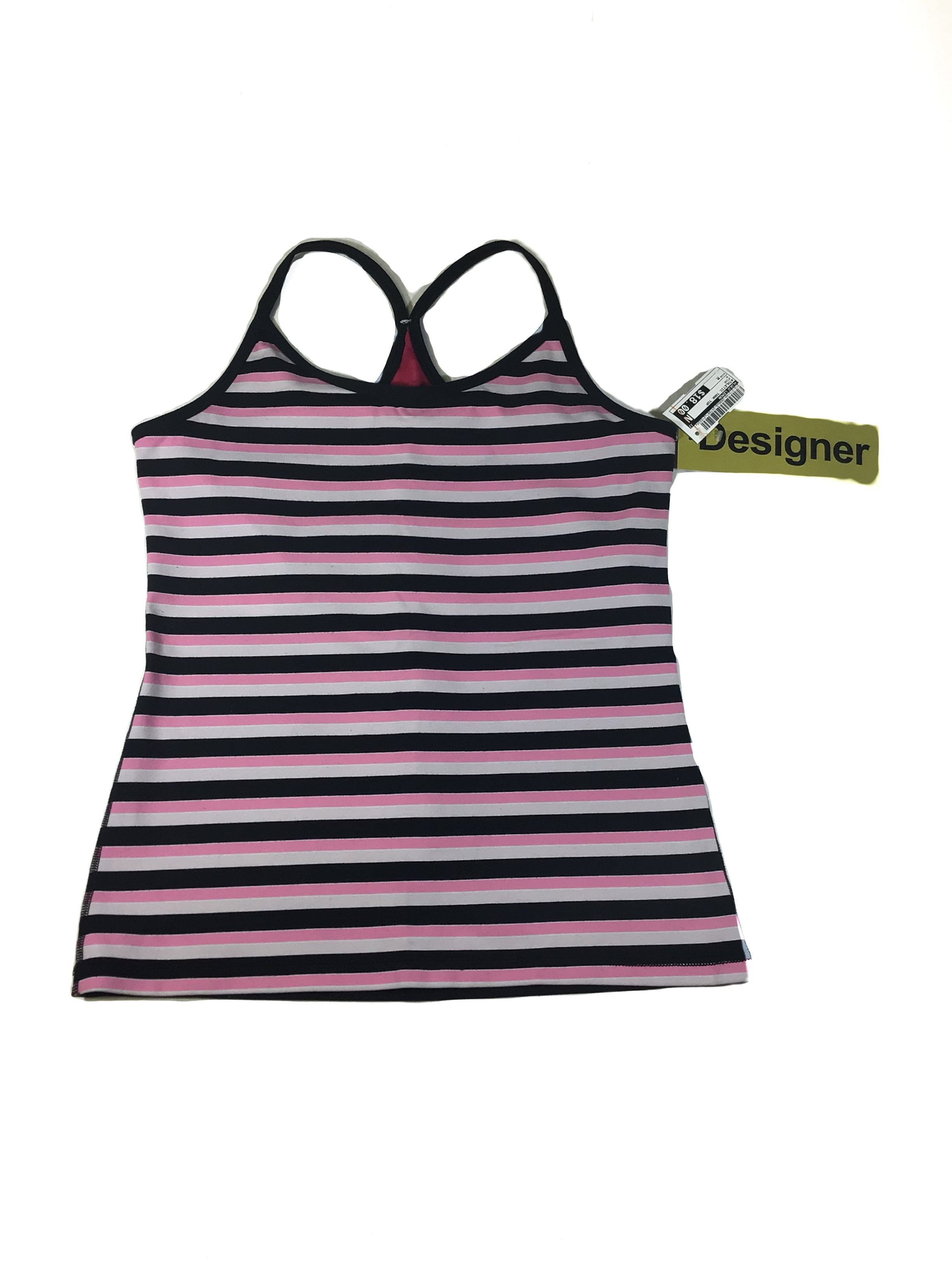 Primary Photo - BRAND: LULULEMON <BR>STYLE: ATHLETIC TANK TOP <BR>COLOR: PINK <BR>SIZE: M <BR>SKU: 213-213149-2690