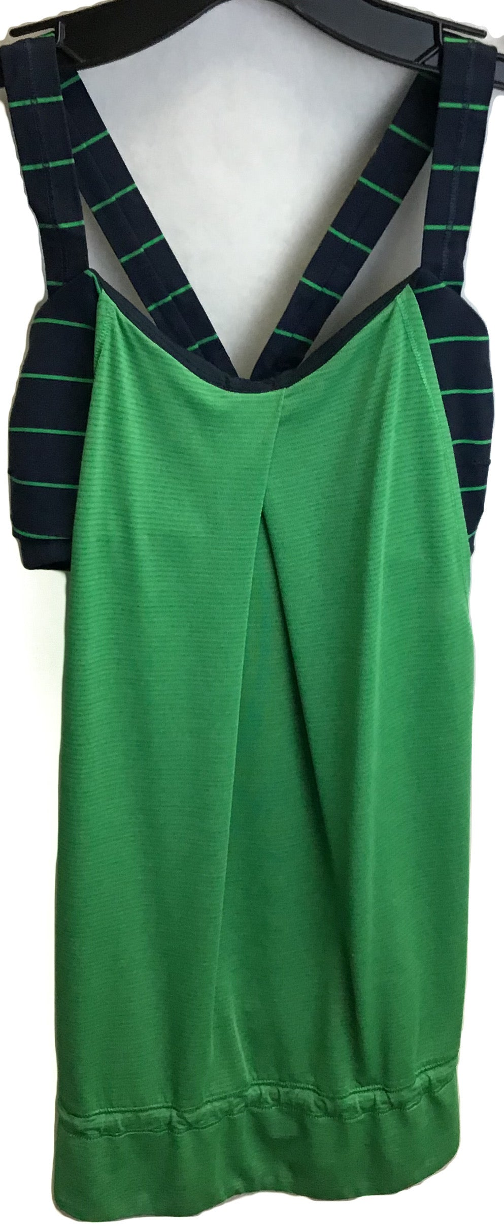Primary Photo - BRAND: LULULEMON <BR>STYLE: ATHLETIC TANK TOP <BR>COLOR: BLUE GREEN <BR>SIZE: XS <BR>SKU: 213-213135-5880