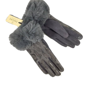 Primary Photo - BRAND:  CMB STYLE: GLOVES SKU: 213-21394-42897FAUX FUR FAUX SUEDE GLOVES WINTER
