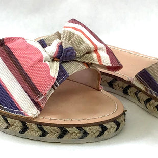 Primary Photo - BRAND: KATE SPADE STYLE: SANDALS FLAT COLOR: STRIPED SIZE: 8.5 SKU: 213-213118-29304