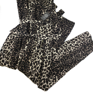 Primary Photo - BRAND: VINCE CAMUTO STYLE: DRESS LONG SLEEVELESS COLOR: LEOPARD PRINT SIZE: XL OTHER INFO: NEW! SKU: 213-213135-6397JUMPER JUMPSUIT