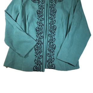 Primary Photo - BRAND:    CLOTHES MENTOR STYLE: BLAZER JACKET COLOR: SEAFOAM SIZE: 2X OTHER INFO: SERENGETI - SKU: 213-213118-30249