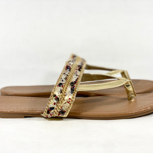 Primary Photo - BRAND: CHARMING CHARLIE STYLE: SANDALS FLAT COLOR: MULTI SIZE: 10 SKU: 213-213143-4343