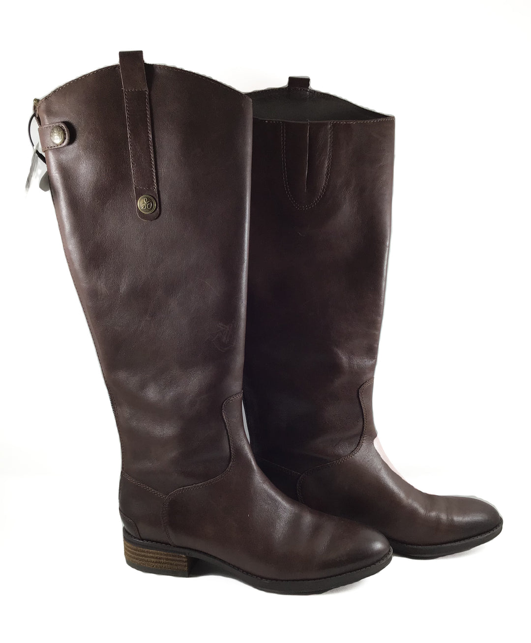 Primary Photo - BRAND: SAM EDELMAN <BR>STYLE: BOOTS KNEE <BR>COLOR: BROWN <BR>SIZE: 7 <BR>SKU: 213-213143-6684