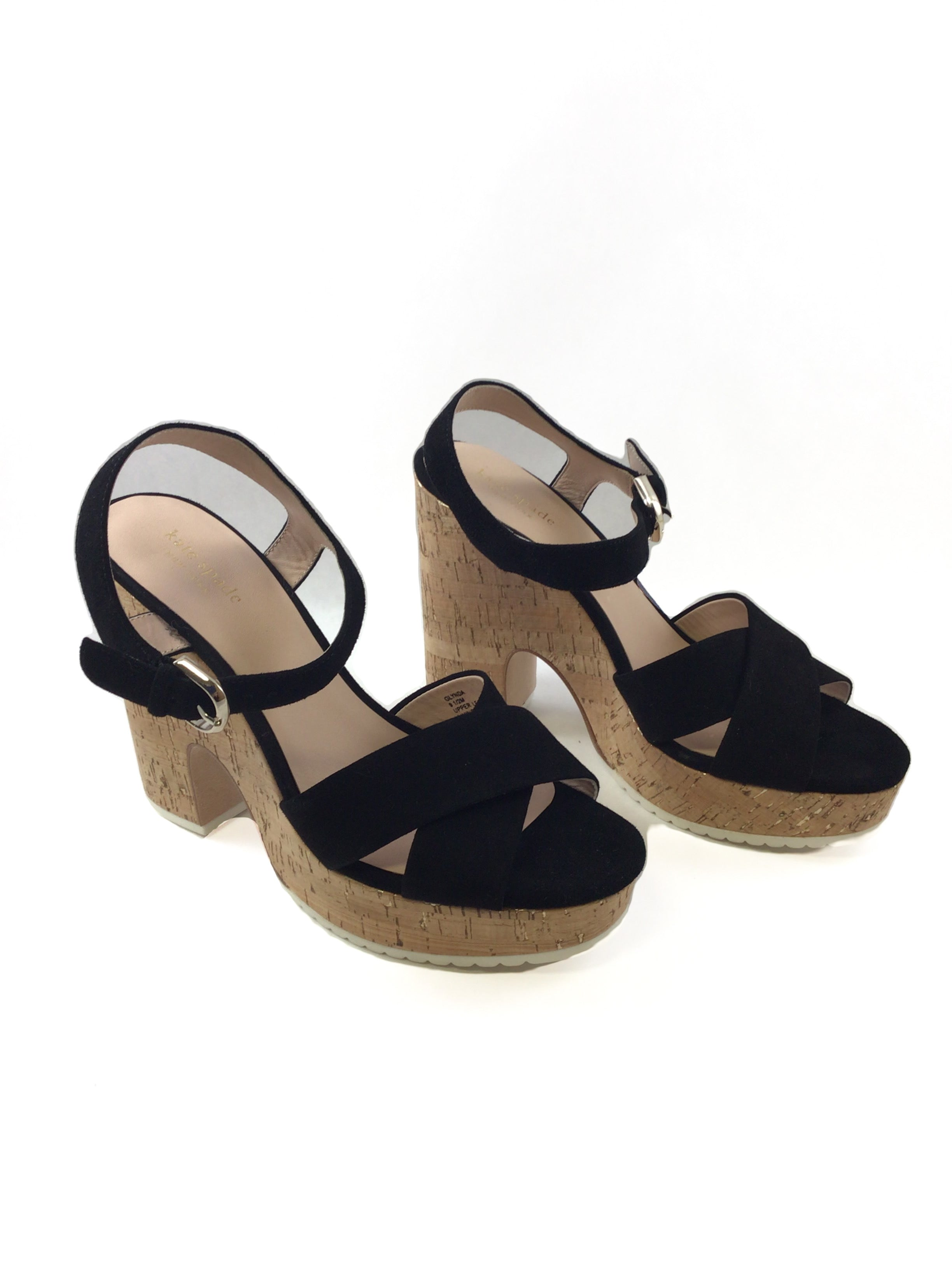Primary Photo - BRAND: KATE SPADE <BR>STYLE: SHOES LOW HEEL <BR>COLOR: BLACK <BR>SIZE: 9.5 <BR>SKU: 213-21394-44129