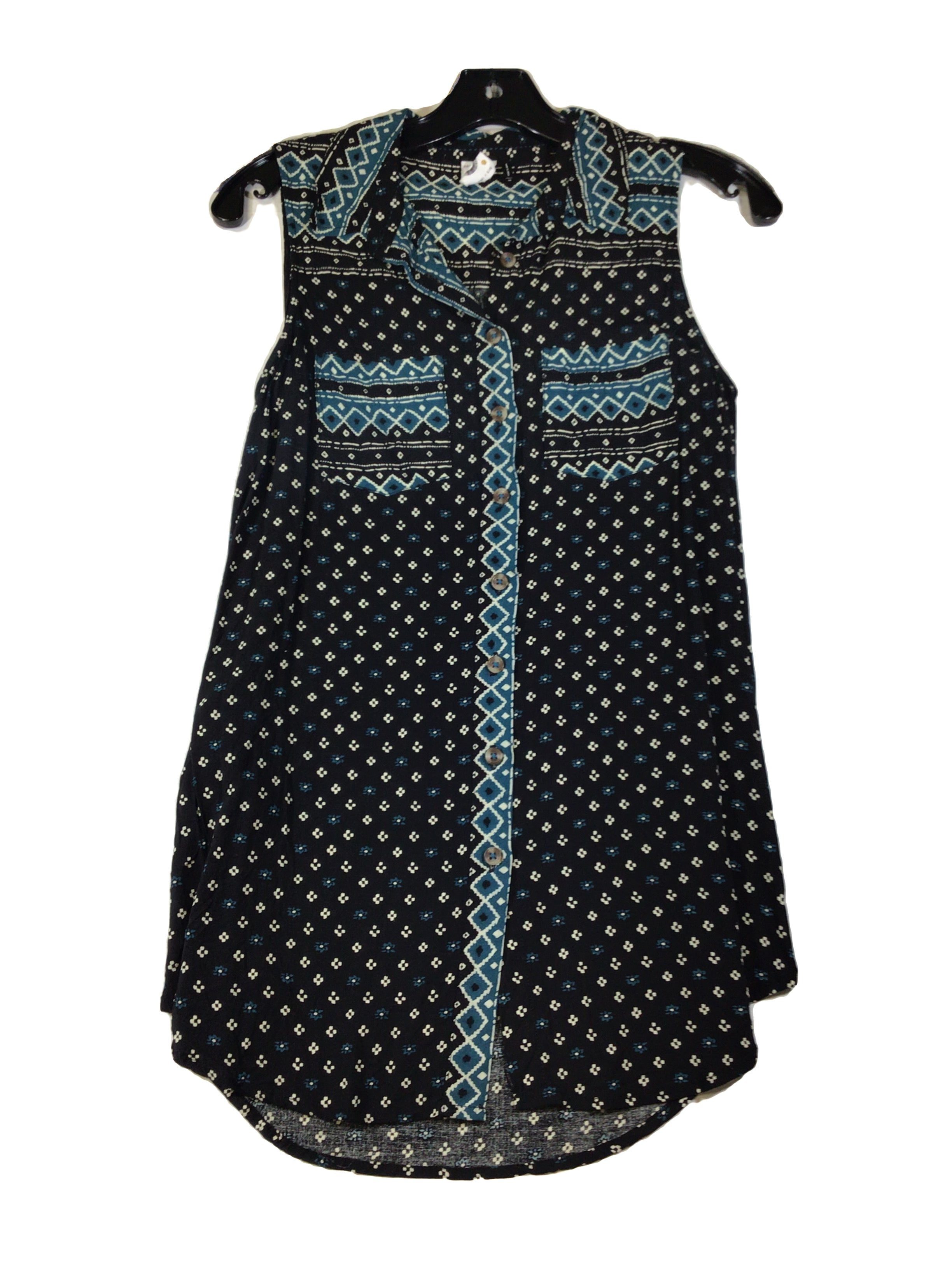 Primary Photo - BRAND: ANTHROPOLOGIE <BR>STYLE: TOP SLEEVELESS <BR>COLOR: MULTI <BR>SIZE: XS <BR>SKU: 213-213143-3377