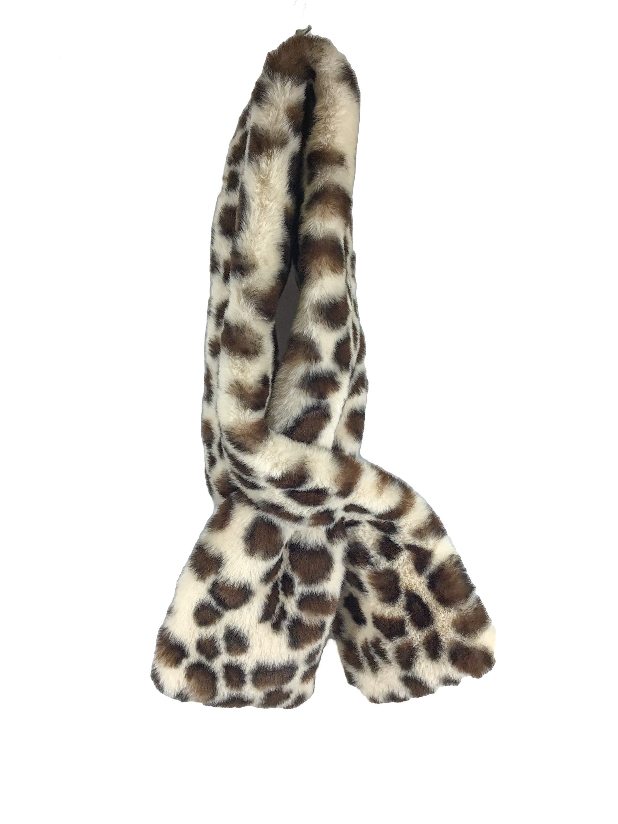 Primary Photo - BRAND:   CMC <BR>STYLE: SCARF WINTER <BR>COLOR: LEOPARD PRINT <BR>SKU: 213-21394-42822<BR>FAUX FUR
