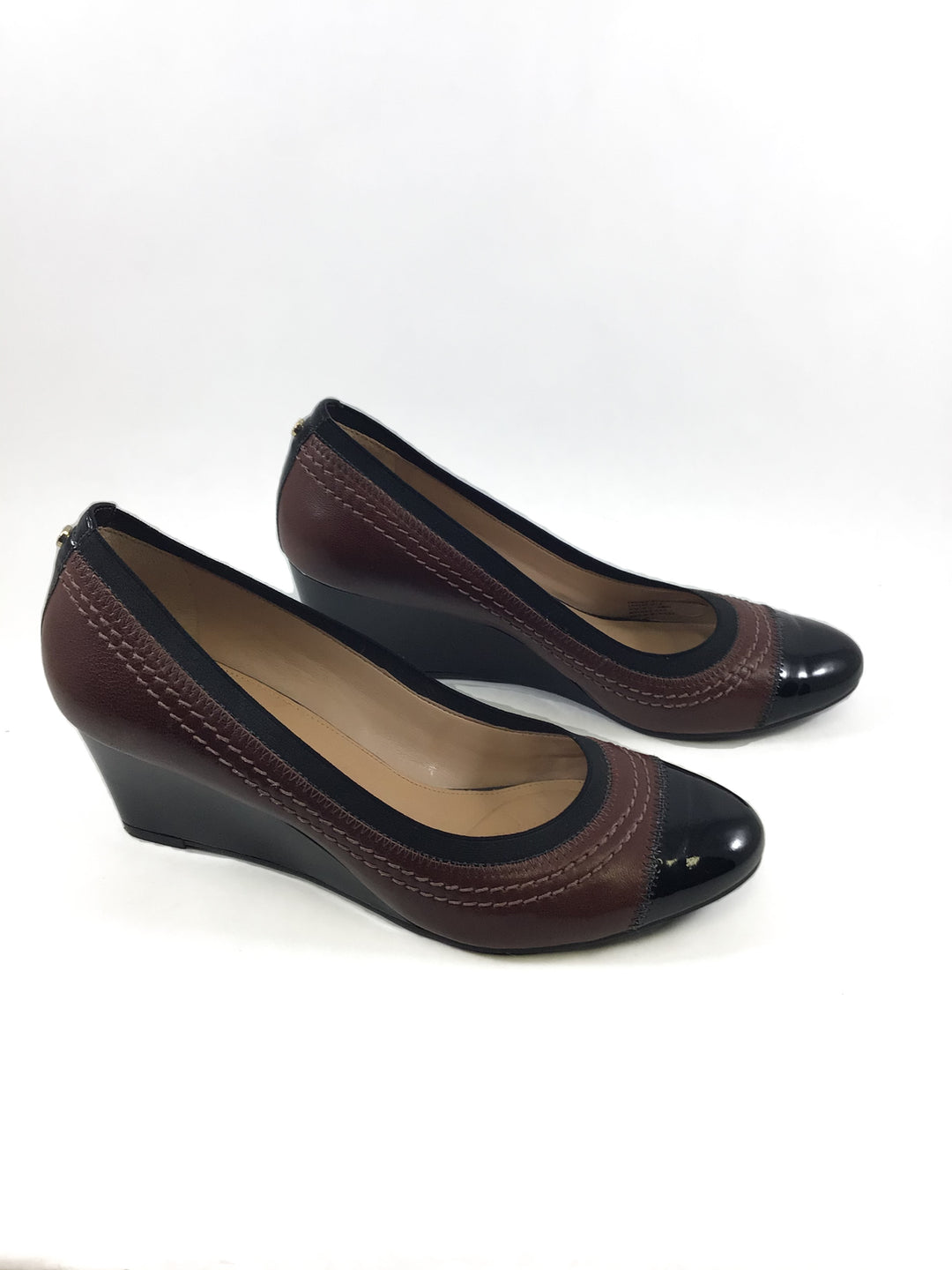 Primary Photo - BRAND: ANTONIO MELANI <BR>STYLE: SHOES LOW HEEL <BR>COLOR: BROWN <BR>SIZE: 8.5 <BR>SKU: 213-213149-1050