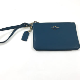 Primary Photo - BRAND: COACH STYLE: WRISTLET COLOR: TEAL SKU: 213-213143-10587