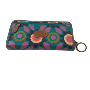 Primary Photo - BRAND: FOSSIL STYLE: WALLET COLOR: FLORAL SIZE: LARGE SKU: 213-213143-7484