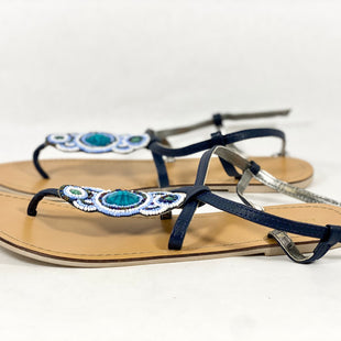 Primary Photo - BRAND: OLD NAVY STYLE: SANDALS FLAT COLOR: BLUE SIZE: 9 SKU: 213-213118-28221