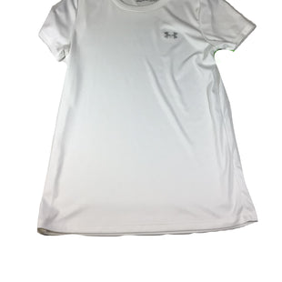 Primary Photo - BRAND: UNDER ARMOUR STYLE: ATHLETIC TOP SHORT SLEEVE COLOR: WHITE SIZE: S SKU: 213-213143-10845