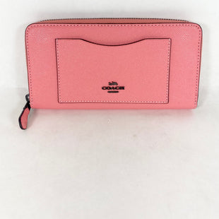 Primary Photo - BRAND: COACH STYLE: WALLET COLOR: PINK SIZE: LARGE SKU: 213-213118-36087