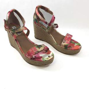 Primary Photo - BRAND: STEVE MADDEN STYLE: SHOES HIGH HEEL COLOR: FLORAL SIZE: 9.5 SKU: 213-213118-34400