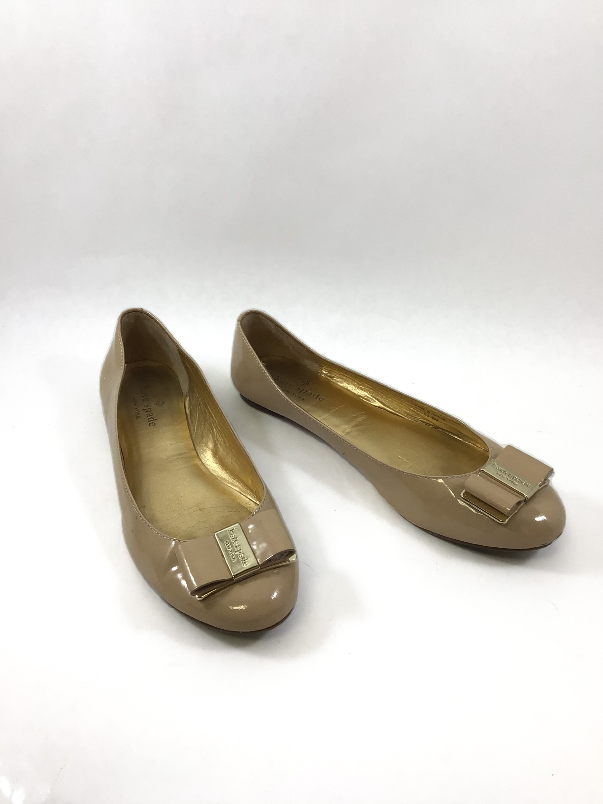 Primary Photo - BRAND: KATE SPADE <BR>STYLE: SHOES FLATS <BR>COLOR: NUDE <BR>SIZE: 8 <BR>SKU: 213-213135-6240