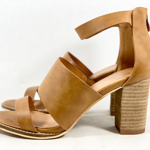 Primary Photo - BRAND: CATHERINE MALANDRINO STYLE: SHOES HIGH HEEL COLOR: CAMEL SIZE: 9 SKU: 213-213149-1916