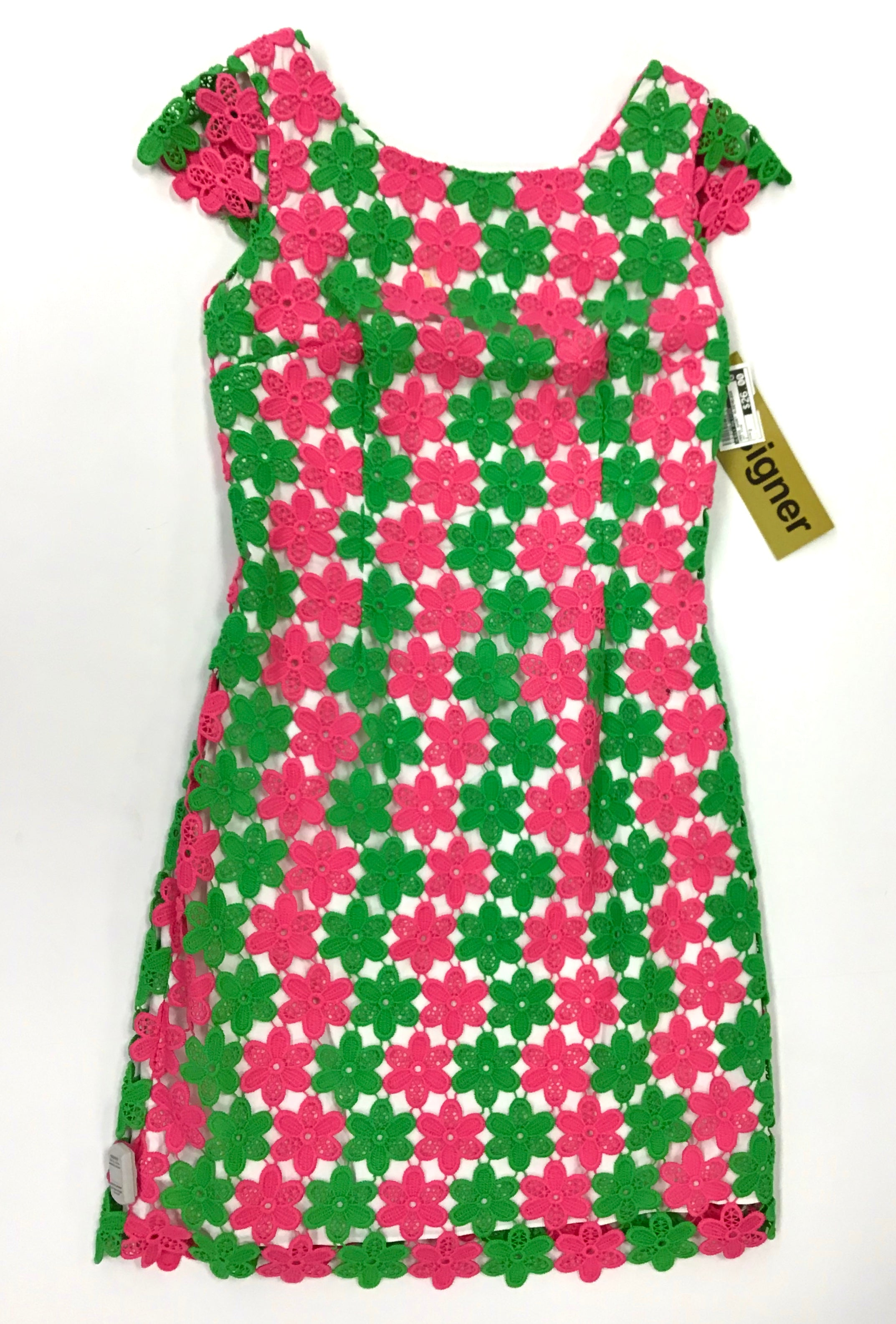 Primary Photo - BRAND: LILLY PULITZER <BR>STYLE: DRESS SHORT SLEEVELESS <BR>COLOR: HOT PINK <BR>SIZE: 2 <BR>SKU: 213-21394-38665