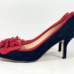 Primary Photo - BRAND: KATE SPADE STYLE: SHOES LOW HEEL COLOR: BLACK RED SIZE: 5.5 SKU: 213-213118-32990