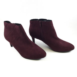 Primary Photo - BRAND: KELLY AND KATIE STYLE: BOOTS ANKLE COLOR: BURGUNDY SIZE: 10 SKU: 213-213118-30896