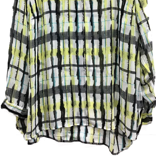 Primary Photo - BRAND: VINCE CAMUTO STYLE: TOP LONG SLEEVE COLOR: GREEN SIZE: 3X SKU: 213-213143-5177