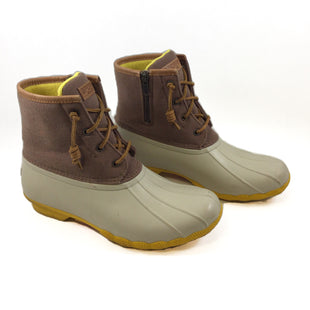 Primary Photo - BRAND: SPERRY STYLE: BOOTS RAIN COLOR: CREAM SIZE: 9 SKU: 213-213149-2074