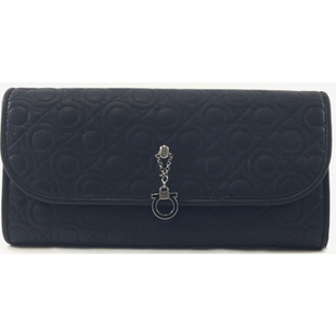 Primary Photo - BRAND: FERRAGAMO STYLE: WALLET COLOR: BLACK SIZE: LARGE SKU: 213-213118-34339