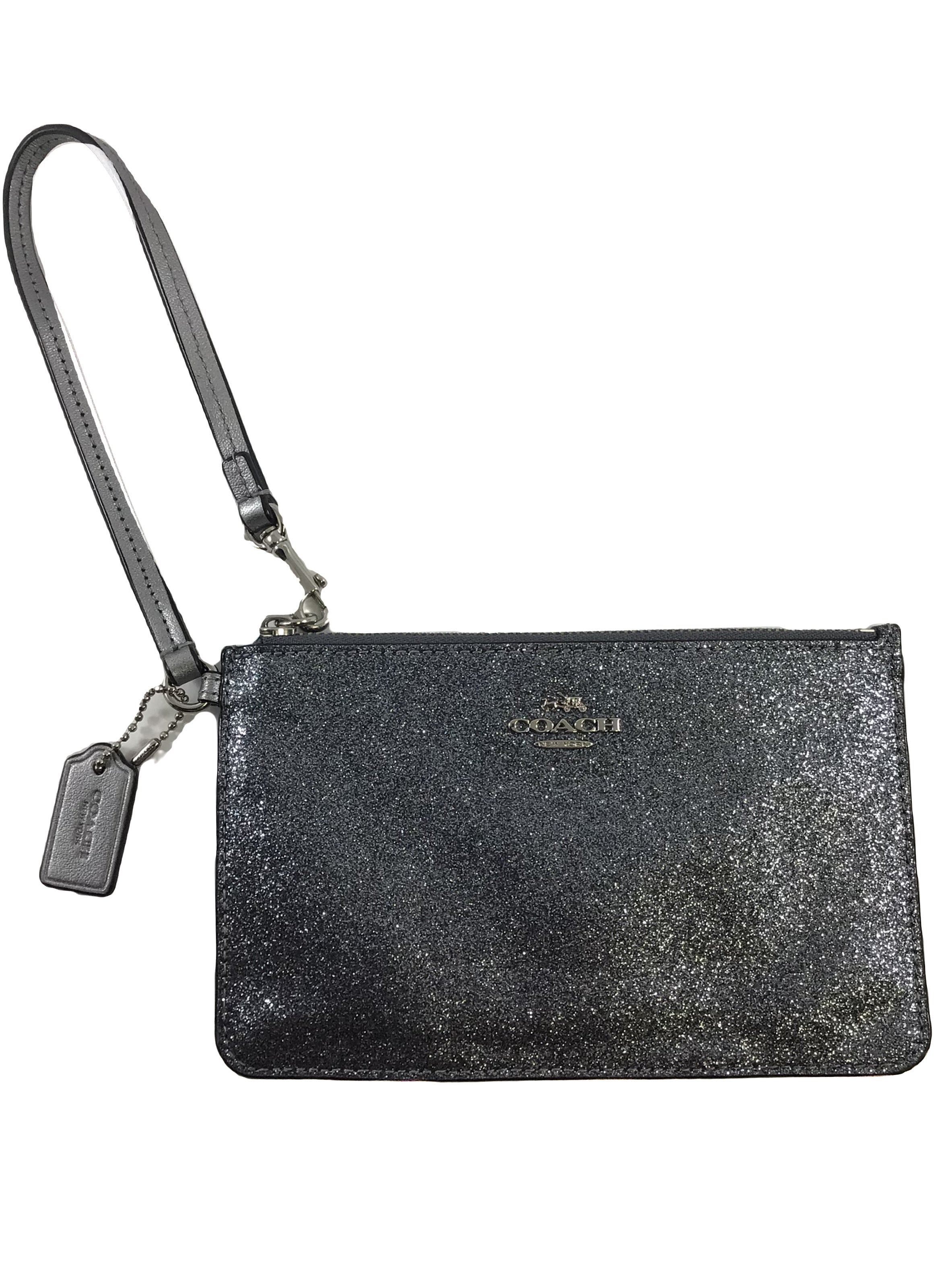 Primary Photo - BRAND: COACH <BR>STYLE: WRISTLET <BR>COLOR: METALLIC <BR>SKU: 213-21394-42962<BR>SILVER