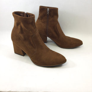 Primary Photo - BRAND: MARC FISHER STYLE: BOOTS ANKLE COLOR: BROWN SIZE: 9.5 SKU: 213-213106-28569