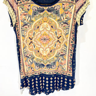 Primary Photo - BRAND: LUCKY BRAND STYLE: TOP SHORT SLEEVE COLOR: MULTI SIZE: L SKU: 213-213118-33227