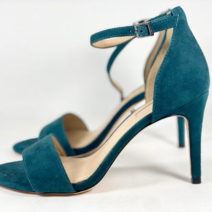 Primary Photo - BRAND: ANTONIO MELANI STYLE: SHOES HIGH HEEL COLOR: TEAL SIZE: 7.5 SKU: 213-213143-10300