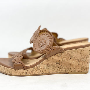 Primary Photo - BRAND: JACK ROGERS STYLE: SANDALS LOW COLOR: CAMEL SIZE: 6 SKU: 213-21394-44567