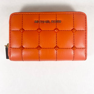 Primary Photo - BRAND: MICHAEL KORS STYLE: WALLET COLOR: ORANGE SIZE: SMALL SKU: 213-213149-3584