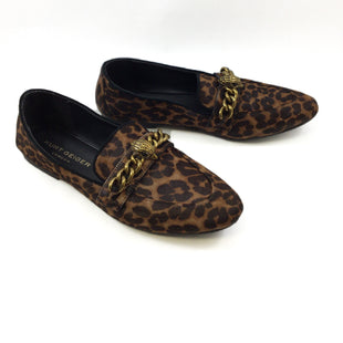 Primary Photo - BRAND: CMA STYLE: SHOES DESIGNER COLOR: ANIMAL PRINT SIZE: 10 OTHER INFO: KURT GEIGER - SKU: 213-213118-32567. LOAFERS .