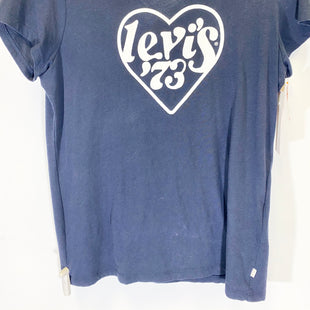 Primary Photo - BRAND: LEVIS STYLE: TOP SHORT SLEEVE COLOR: NAVY SIZE: L SKU: 213-213118-33159