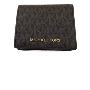 Primary Photo - BRAND: MICHAEL BY MICHAEL KORS STYLE: WALLET COLOR: MONOGRAM SIZE: SMALL SKU: 213-213118-33424