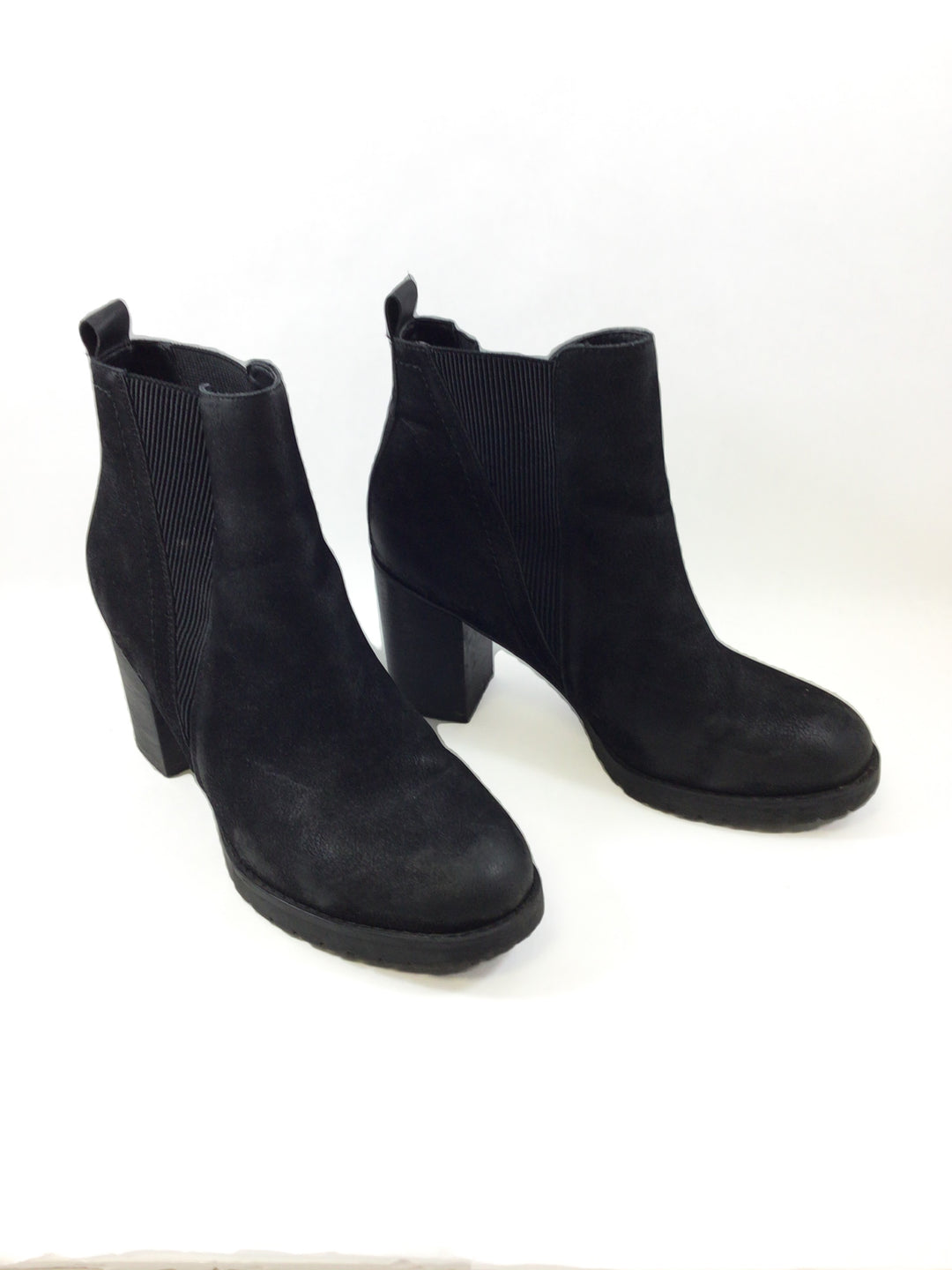 Primary Photo - BRAND:    CLOTHES MENTOR <BR>STYLE: BOOTS ANKLE <BR>COLOR: BLACK <BR>SIZE: 11 <BR>OTHER INFO: BOOTS - <BR>SKU: 213-213149-1884