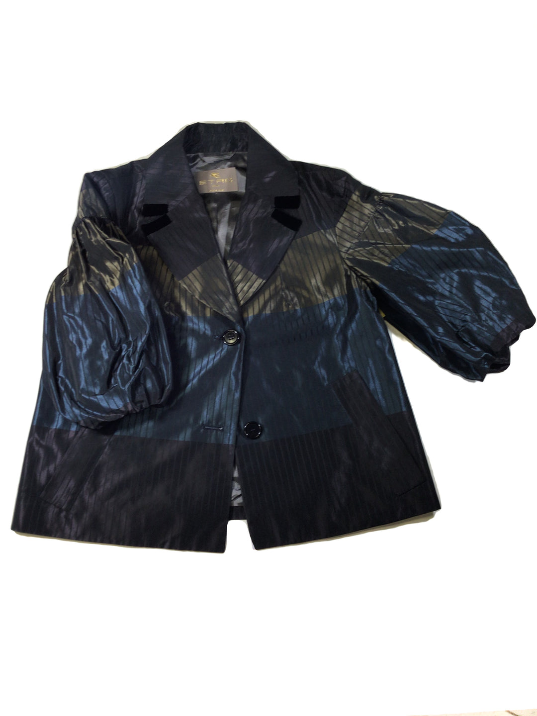 Primary Photo - BRAND:  CMA <BR>STYLE: BLAZER JACKET <BR>COLOR: METALLIC <BR>SIZE: S <BR>OTHER INFO: ETRO - <BR>SKU: 213-21394-43510