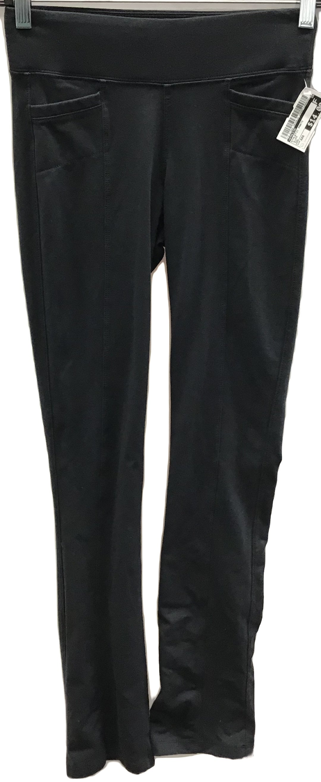 Primary Photo - BRAND: ATHLETA <BR>STYLE: ATHLETIC PANTS <BR>COLOR: BLACK <BR>SIZE: XXS <BR>SKU: 213-21394-38398