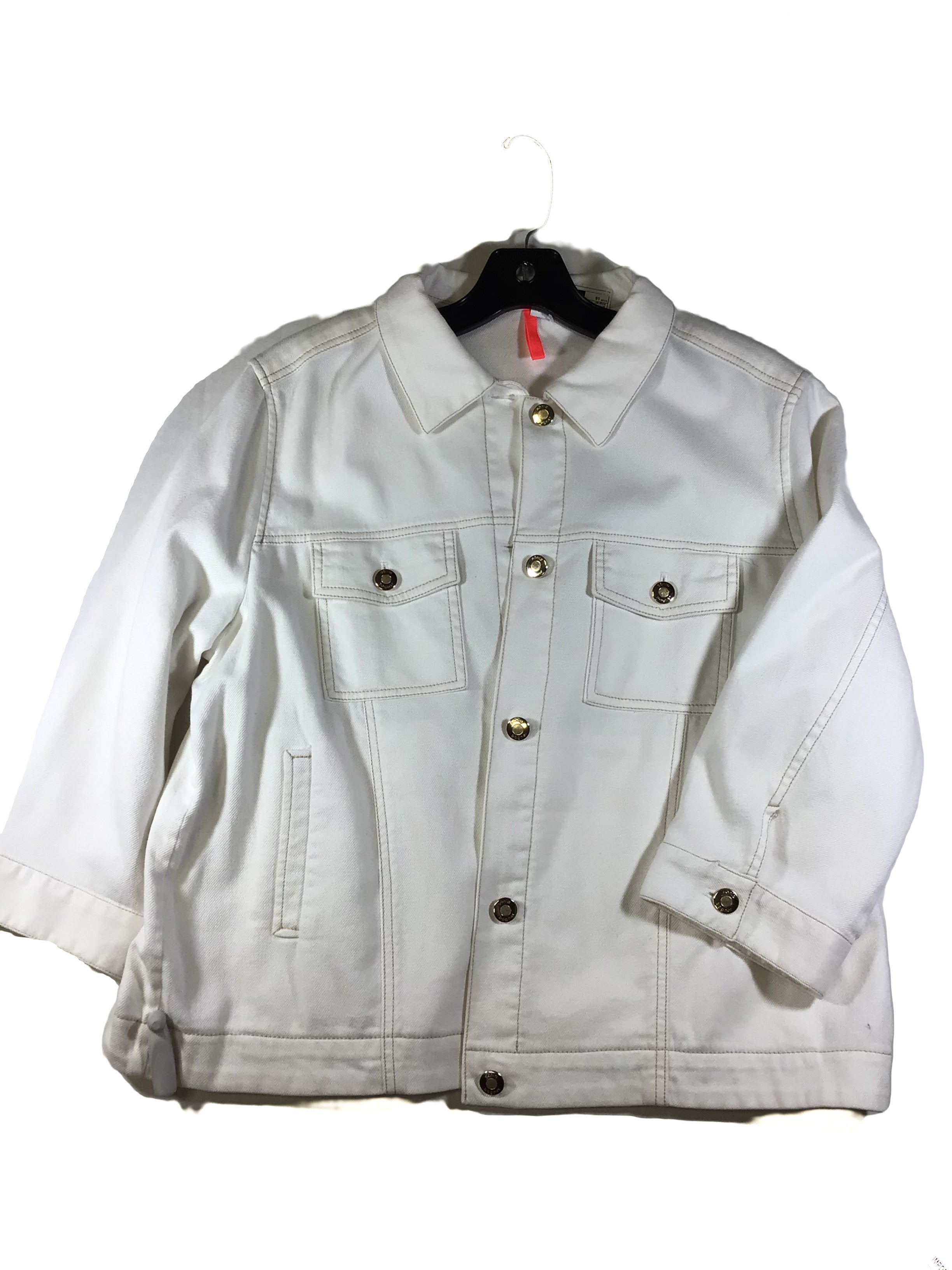Primary Photo - BRAND:  CMA <BR>STYLE: JACKET OUTDOOR <BR>COLOR: WHITE <BR>SIZE: 16 <BR>OTHER INFO: BOGNER - <BR>SKU: 213-213118-32221